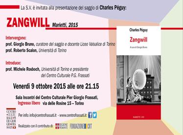 Charles Peguy zangwill